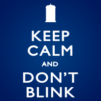 Keep Calm and Don't Blink - Zip Hoodie